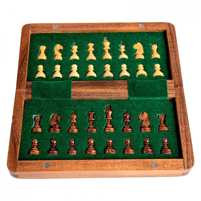 Sah magnetic lemn kh31 mm, 18x18 cm 4