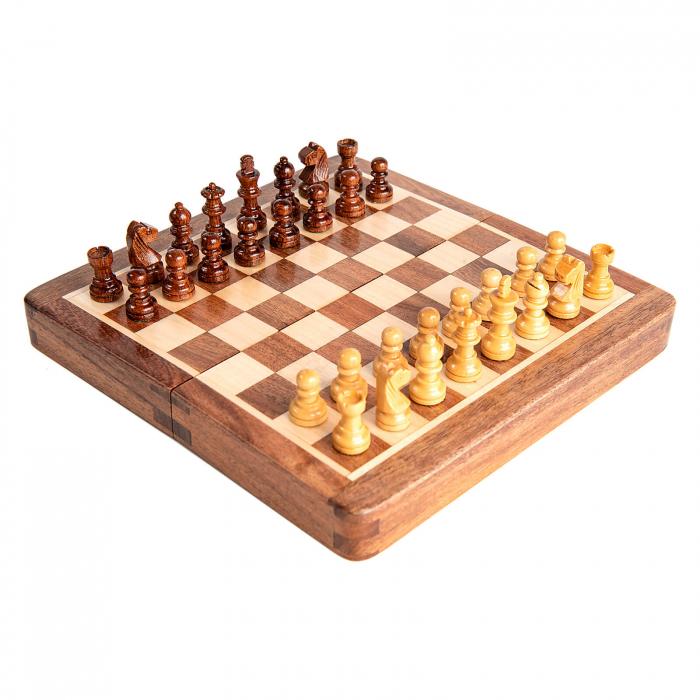 Sah magnetic lemn kh31 mm, 18x18 cm 0
