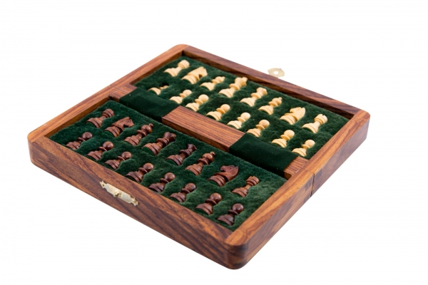 Sah magnetic lemn kh31 mm, 18x18 cm 1