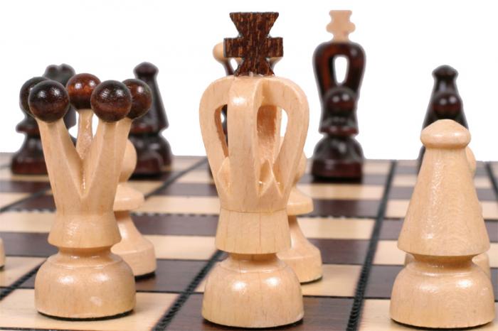Set Șah si Dame, 35 cm [10]