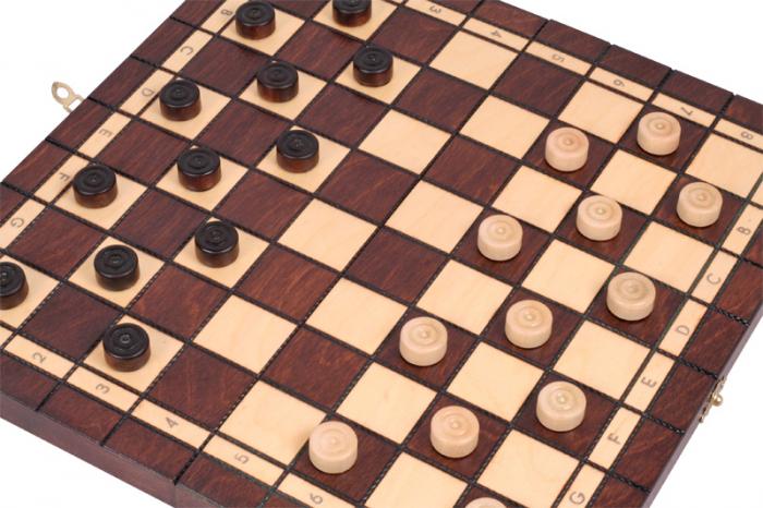 Set Șah si Dame, 35 cm [6]