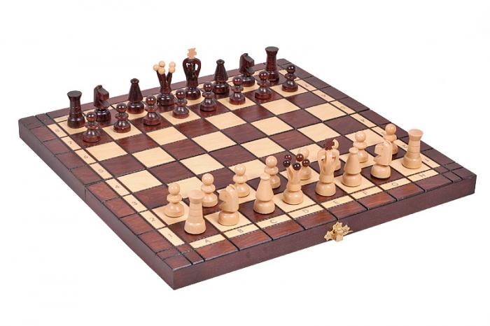 Set Șah si Dame, 35 cm [0]