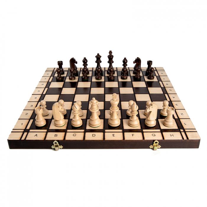 Set Șah si Dame, 48 cm 5