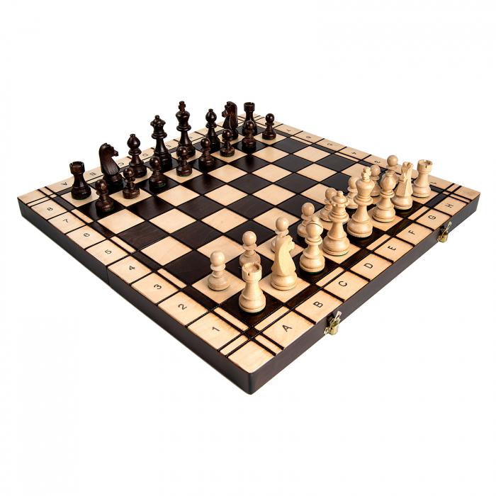 Set Șah si Dame, 48 cm 1