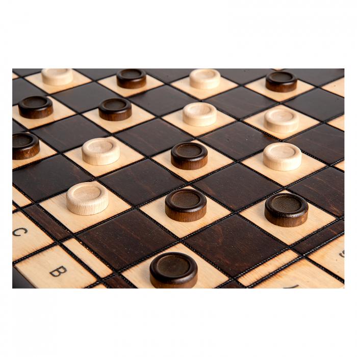 Set Șah si Dame, 48 cm 7