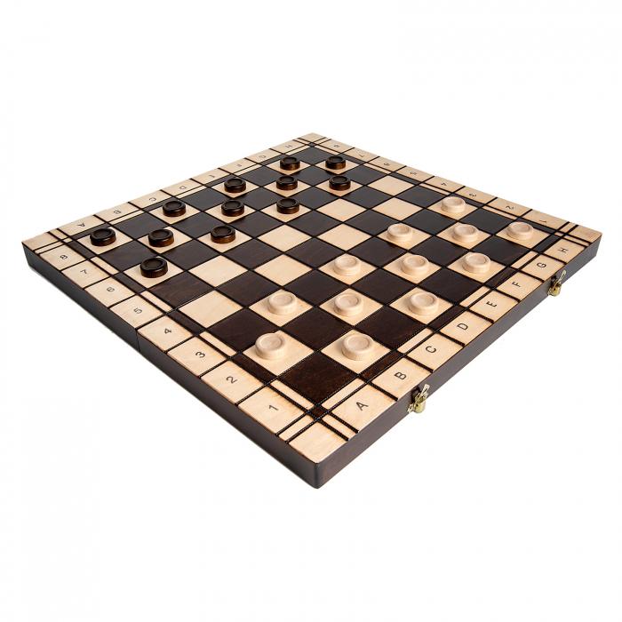 Set Șah si Dame, 48 cm 6