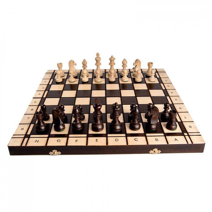 Set Șah si Dame, 48 cm 4