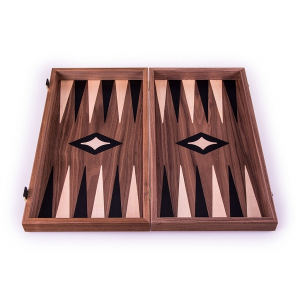Set joc table backgammon - aspect nuc - 47,5x50 cm 1