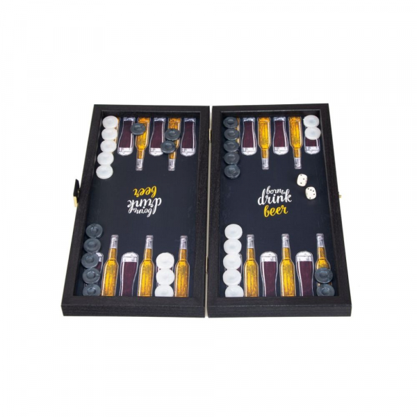 Set joc table backgammon model Bere 30 x 30cm