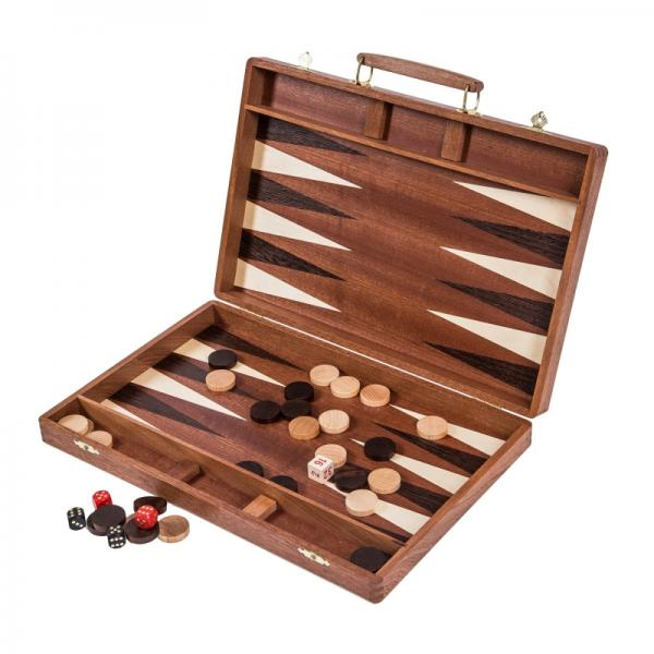 Set joc table backgammon Exclusiv 38 cm