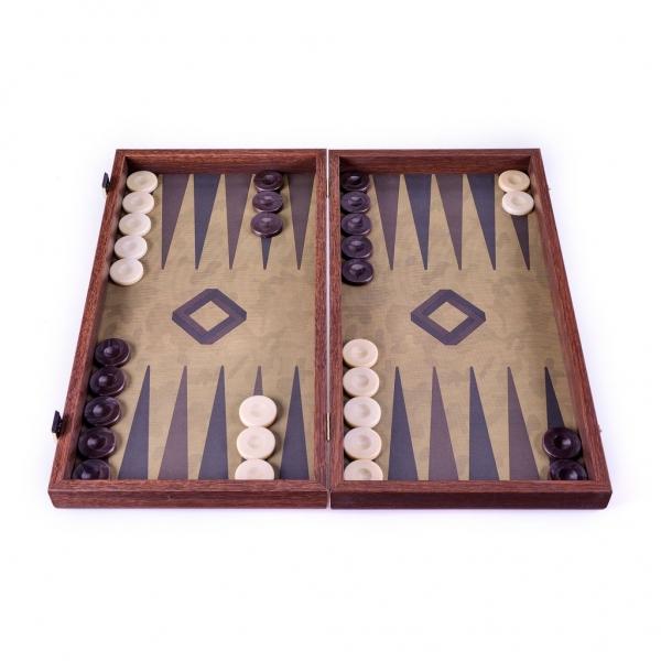 Set joc table backgammon in stil militar-48x50 cm