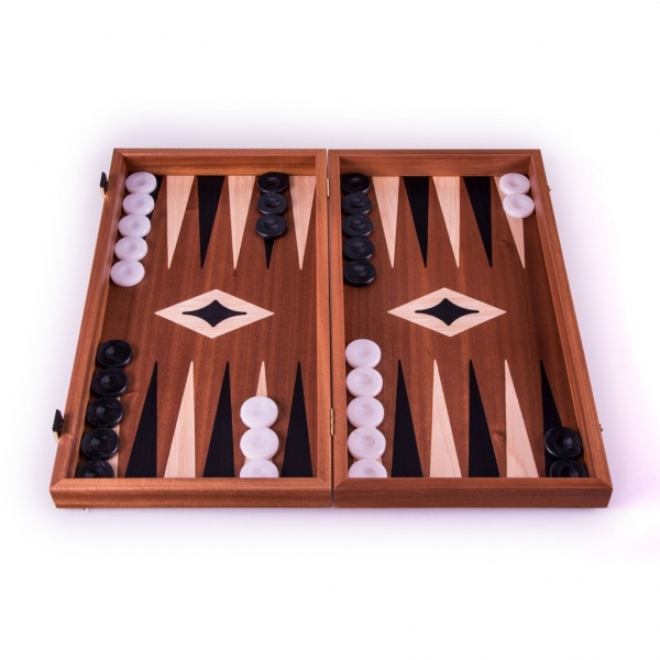 Set joc table backgammon - Mahon - 47 x 50 cm