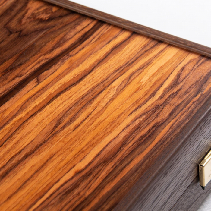 Set joc table backgammon palisandru Santos - 48 x 60 cm [5]