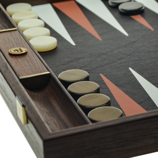 Set joc table backgammon piele model Crocodil - 48 x 60 0