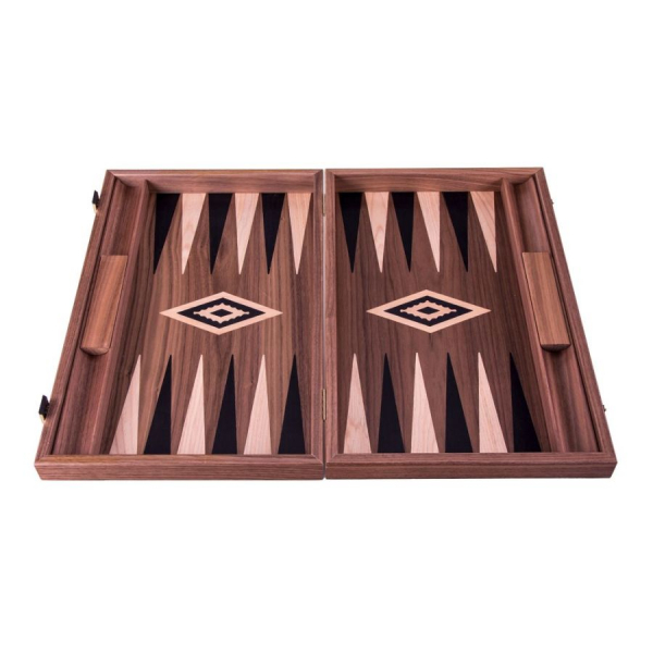 Set joc table / backgammon Walnut cu inserții negre 1