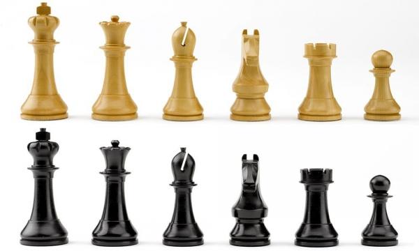 Piese sah lemn Staunton 6 World Chess Design 1