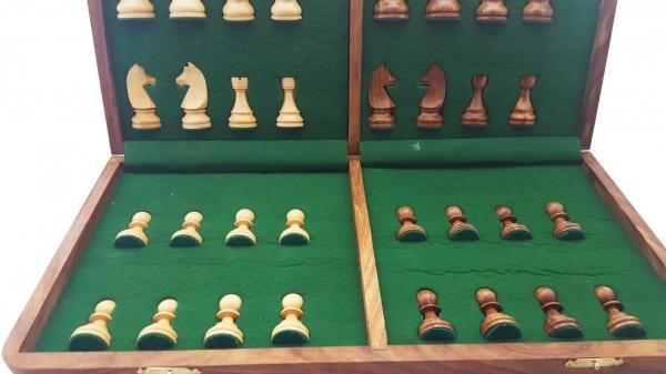 Set piese si cutie cu tabla de sah - Tournament [2]