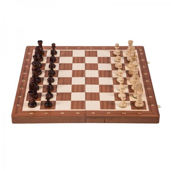 Set sah BHB no 6, inlaid mahon/artar 0