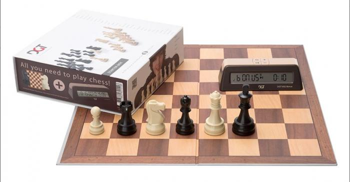 Set sah DGT Starter Chess Box – Maro 0