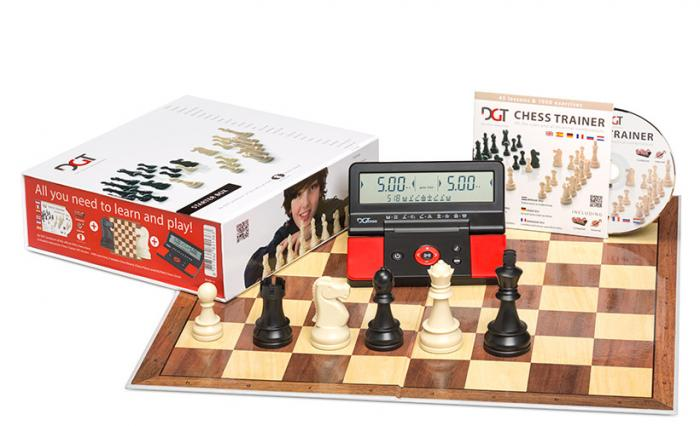 Set sah DGT Starter Chess Box – Rosu 1