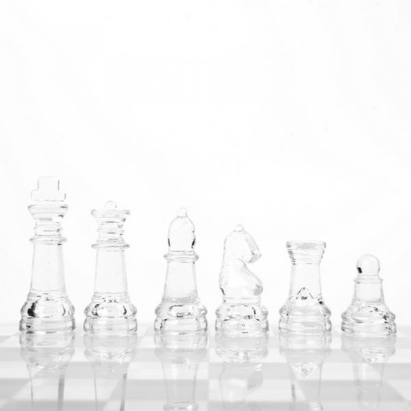 Set sah din sticla 3