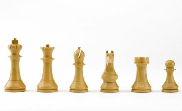 Piese sah lemn Staunton 6 World Chess Design 2