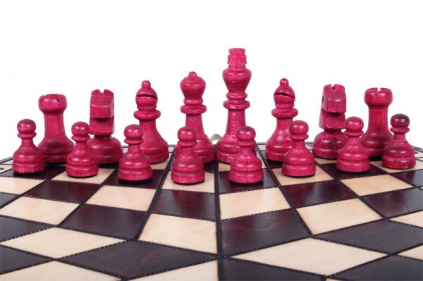 Set sah pentru 3 jucatori (mare) [4]