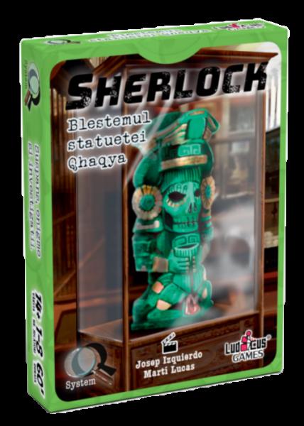 Sherlock - Q3 Blestemul statuetei Qhaqya 0
