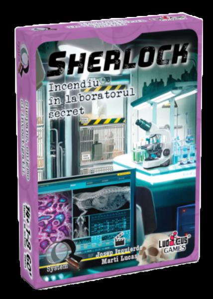 Sherlock - Q6 Incendiu în laboratorul secret 0