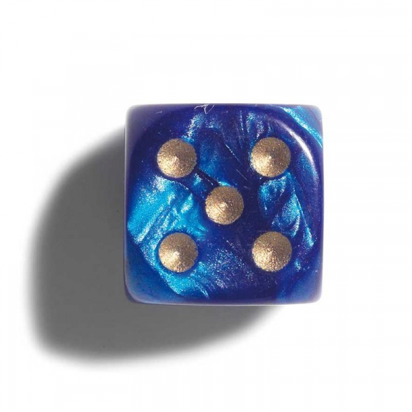 Zaruri perlate 12mm albastru- set 2 bucati 0