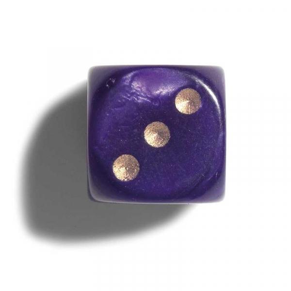 Zaruri perlate mov 16 mm - set 2 bucati imagine