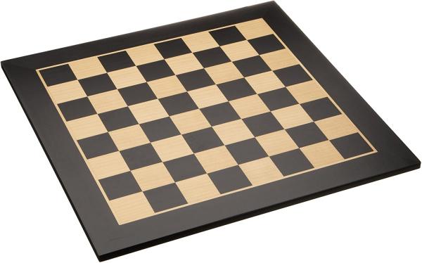 Tabla de sah din lemn Black/Artar, 50x50cm, patrat 50mm - Bruxelles 0