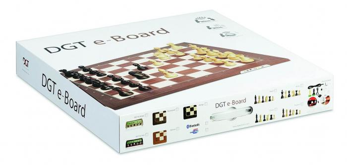 Tabla de sah electronica USB Rosewood (in cutie cadou) [1]