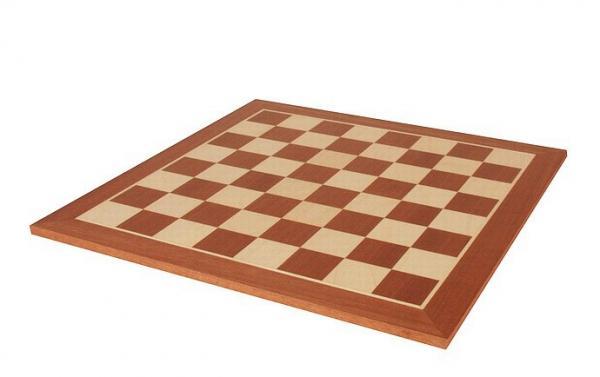 Tabla de sah - lemn mahon 58 x 58 mm imagine