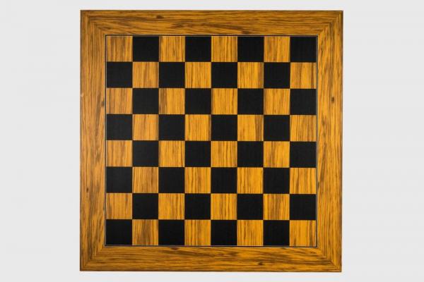 Tabla de sah  no. 5, lemn de maslin, 50x50 cm, patrat 50mm [0]