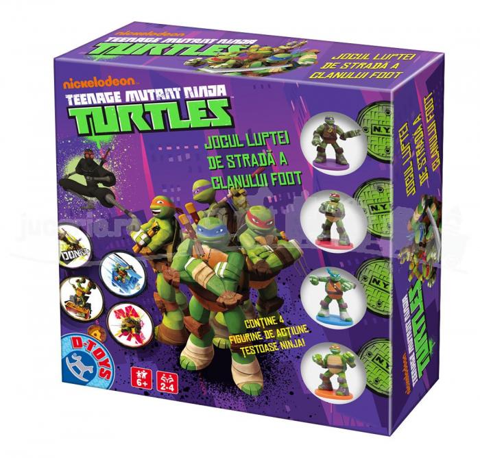 Joc Nickelodeon - Teenage Mutant Ninja Turtles