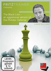DVD: The Black Lion - an aggressive version of the Philidor Defense 0