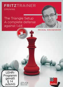 DVD Krasenkov: The Triangle Setup, A complete defense against 1.d4 0