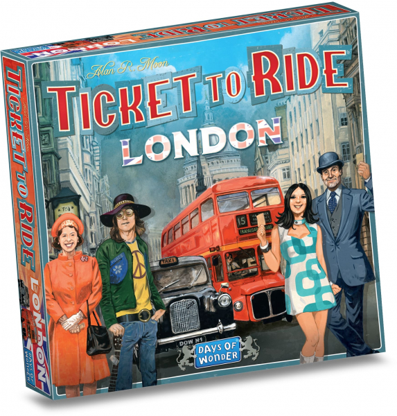 TICKET TO RIDE LONDRA 3