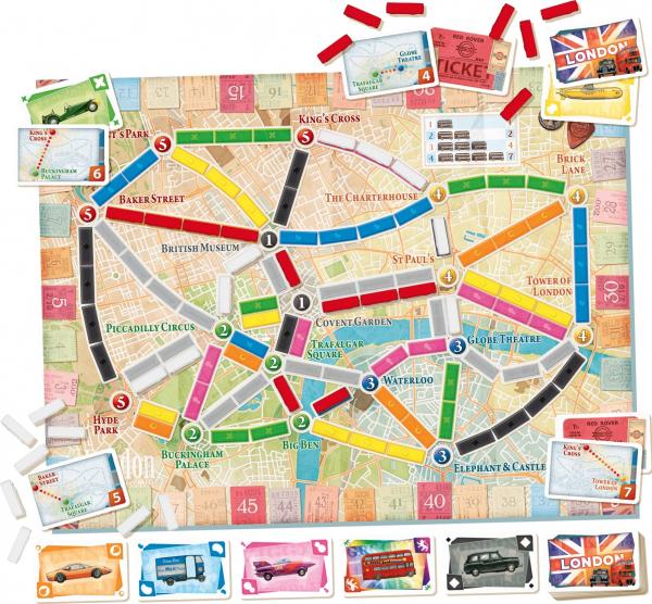 TICKET TO RIDE LONDRA 2