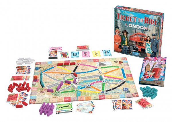 TICKET TO RIDE LONDRA 1