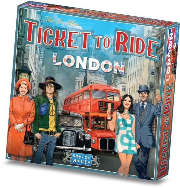 TICKET TO RIDE LONDRA 4