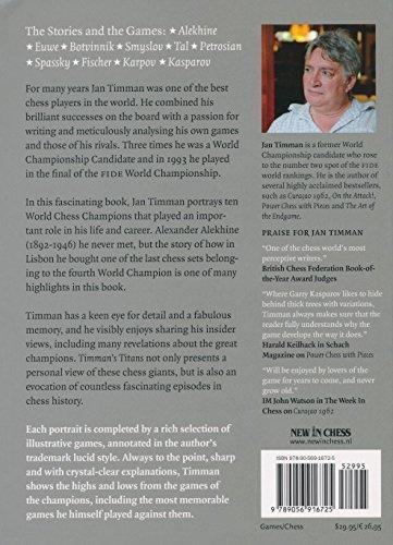 Carte : Timman's Titans : My World Chess Champions - Jan Timman [1]