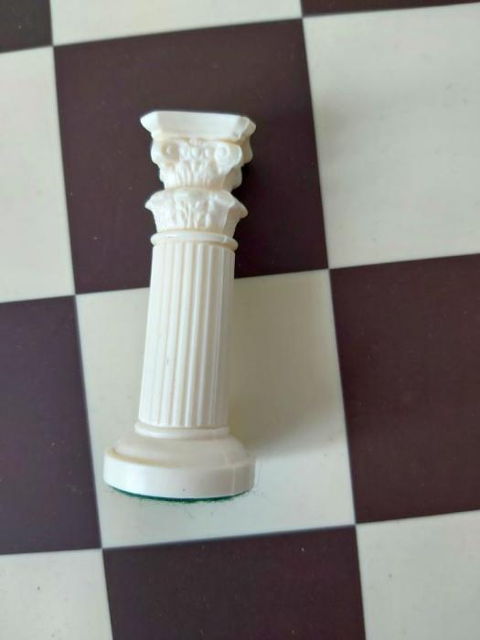 Turn alb rezerva pentru setul tematic din plastic Roma Antica [0]