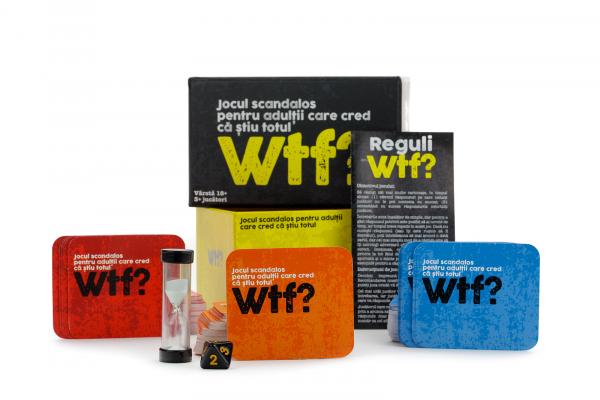 WTF? - Joc de societate pentru adulti (RO) 1