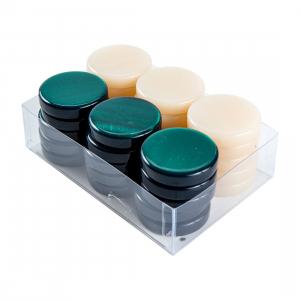 Puluri joc table - sidef Verde- d.36 mm0