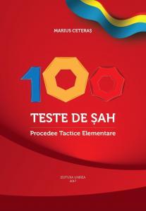 Carte : 100 teste de sah. Procedee Tactice Elementare / M. Ceteras