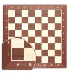 Tabla de sah - lemn mahon 58 x 58 mm1