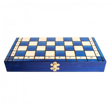 Set de sah Royal Maxi BLUE2