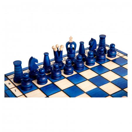 Set de sah Royal Maxi BLUE1